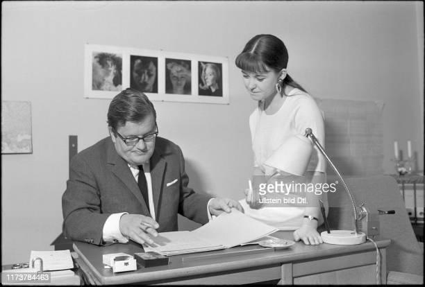 Rachel Cathoud with her father 1966
