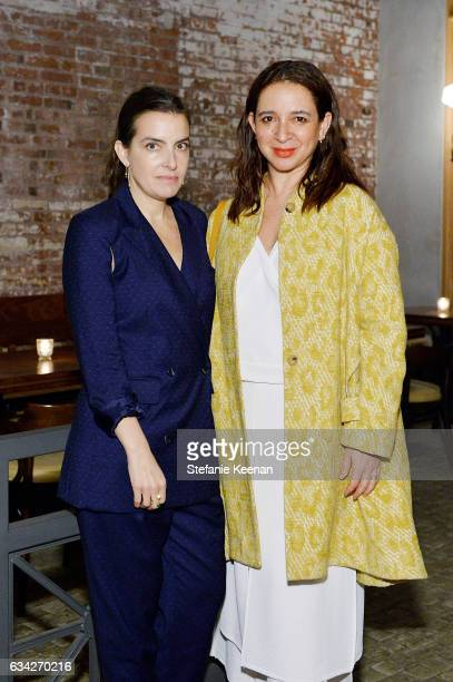 Rachel Comey and Maya Rudolph attend Rachel Comey Fall Winter 2017 Collection Presentation on February 7 2017 in Los Angeles California