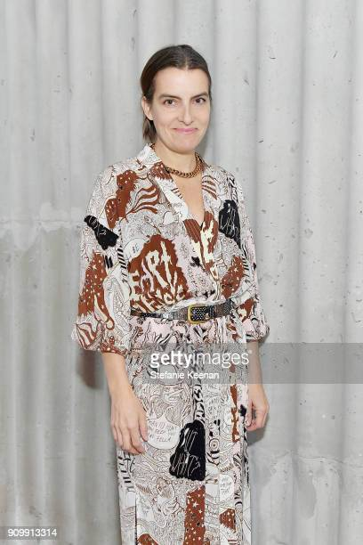 Rachel Comey attends Conde Nast The Women March's Cocktail Party to Celebrate the One Year Anniversary of the March the Publication of Together We...