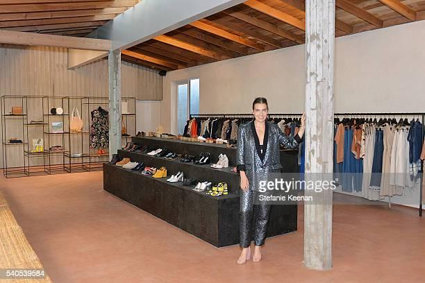 Rachel Comey attends Rachel Comey Los Angeles Store Opening on June 15 2016 in Los Angeles California