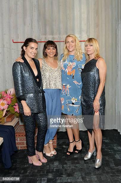 Rachel Comey Rashida Jones Busy Phillips and Kim Gordon attend Rachel Comey Los Angeles Store Opening on June 15 2016 in Los Angeles California