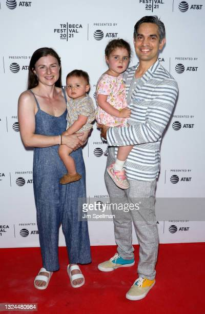 """Rachel Creagan and co-director/producer Sami Kahn attend the """"The Last Out"""" premiere during the 2021 Tribeca Festival at Empire Outlets on June 19,..."""