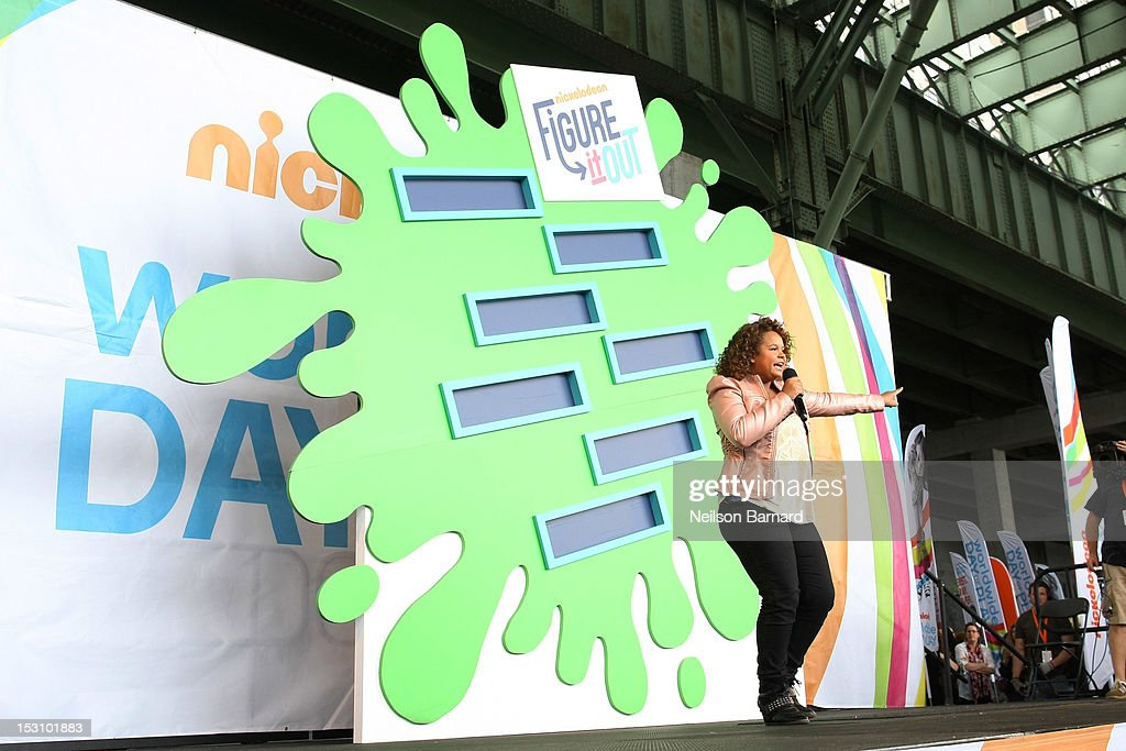 Rachel Crow performs on stage during the Nickelodeon World Wide Day of Play Celebration during NYC Big Brothers Big Sisters RBC Race for the Kids Event in Riverside Park on September 29, 2012 in New York City.