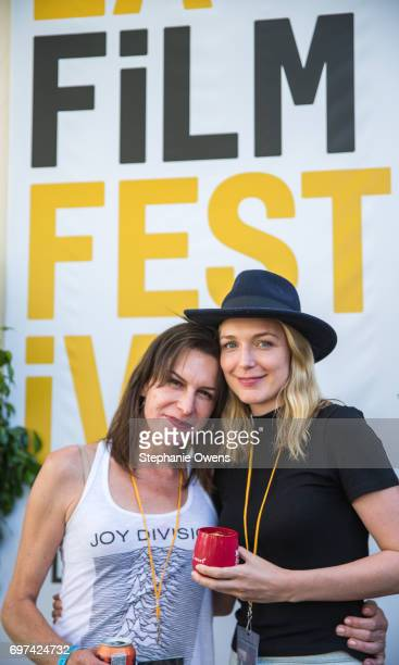 Rachel Crowl and Tania Nolan attend the Women Filmmakers Event during 2017 Los Angeles Film Festival at Festival Lounge on June 16 2017 in Culver...