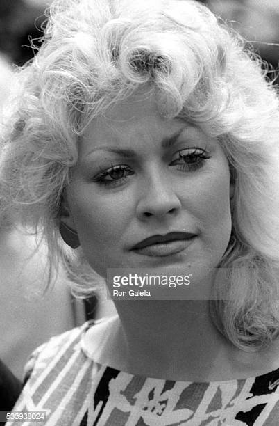 Rachel Dennison attends 9 to 5 Press Conference on March 24 1982 at ABC TV Studios in Century City California