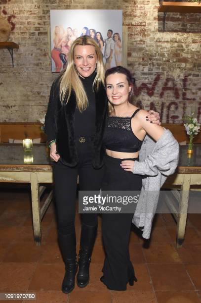Rachel Dicarlo and Role Model Molly Burke attend as Aerie celebrates #AerieREAL Role Models in NYC on January 31 2019 in New York City