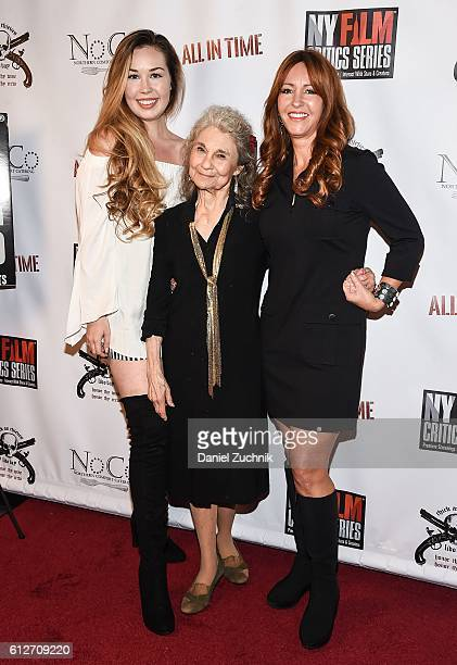 Rachel Donahue Lynn Cohen and Marina Donahue attend the 'All in Time' New York Film Critics Screening at AMC Empire 25 theater on October 4 2016 in...
