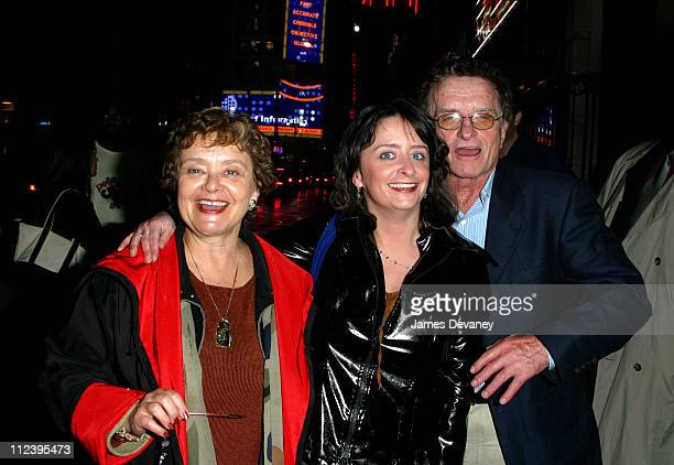 Rachel Dratch and parents during Sarah Michelle Gellar Hosts SNL AfterParty at Times Square in New York City New York United States