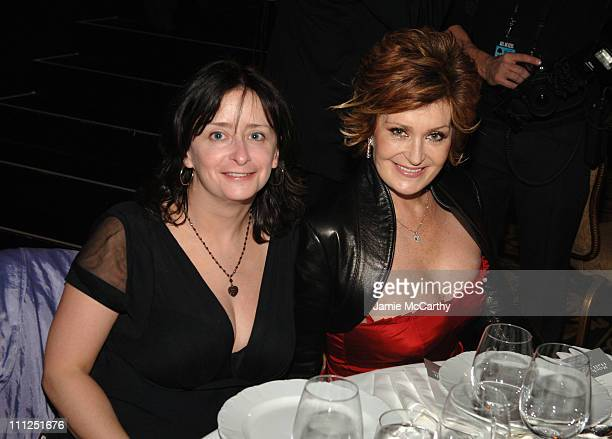 Rachel Dratch and Sharon Osbourne during 21st Annual Rock and Roll Hall of Fame Induction Ceremony Cocktails and Dinner at Waldorf Astoria Hotel in...