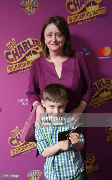 Rachel Dratch and son Eli Benjamin Wahl attend the Broadway Opening Performance of 'Charlie and the Chocolate Factory' at the LuntFontanne Theatre on...