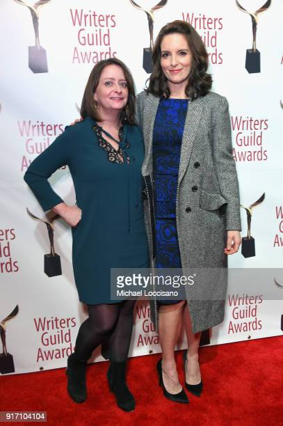 Rachel Dratch and Tina Fey attend the 70th Annual Writers Guild Awards New York at Edison Ballroom on February 11 2018 in New York City