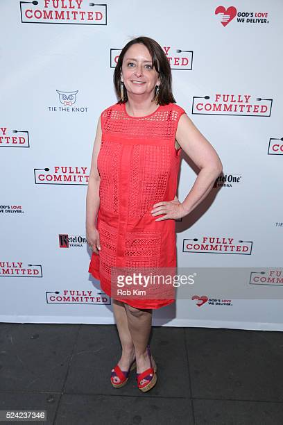 """Rachel Dratch attends the opening night of """"Fully Committed"""" at Lyceum Theatre on April 25, 2016 in New York City."""