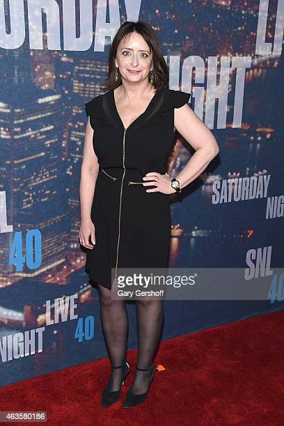 Rachel Dratch attends the SNL 40th Anniversary Celebration at Rockefeller Plaza on February 15 2015 in New York City