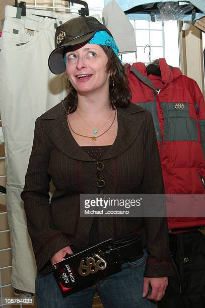 Rachel Dratch in 686 suite during Fuel TV Chalet at Sundance and X-Dance 2006 - Day 6 at Woodside in Park City, Utah, United States.