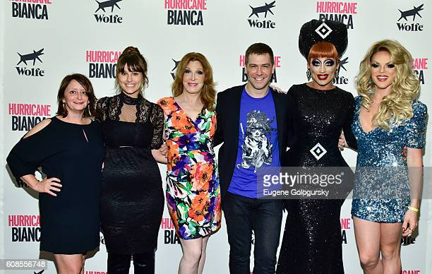 Rachel Dratch Molly Ryman Bianca Leigh Matt Kugelman Bianca Del Rio Bianca Del Rio and Willam Belli attend the US Premiere Of HURRICANE BIANCA...