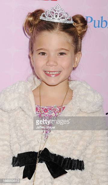 Rachel Eggleston arrives at the Disney Channel's Premiere Party For 'Sofia The First Once Upon A Princess' at the Walt Disney Studios on November 10...