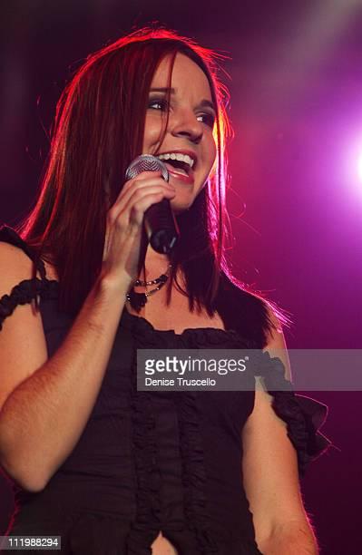 Rachel Farris during Rachel Ferris Performs at Caesars Palace in Las Vegas Nevada