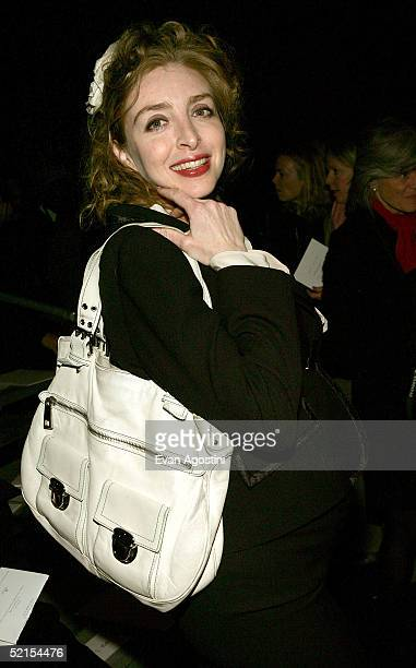 Rachel Feinstein attends the Marc Jacobs Fall 2005 show during Olympus Fashion Week at The Armory February 7, 2005 in New York City.