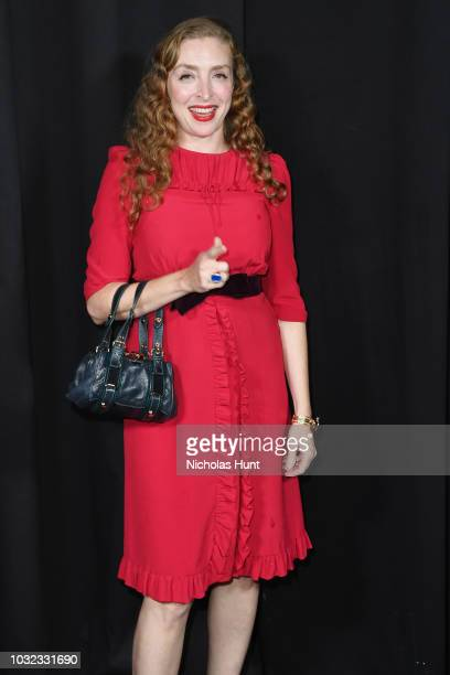 Rachel Feinstein attends the Marc Jacobs Spring 2019 Runway during New York Fashion Week The Shows at Park Avenue Armory on September 12 2018 in New...