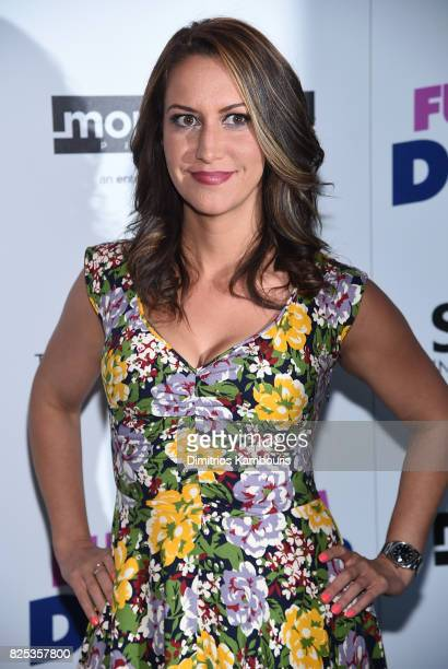 "Rachel Feinstein attends the screening Of ""Fun Mom Dinner"" at Landmark Sunshine Cinema on August 1, 2017 in New York City."