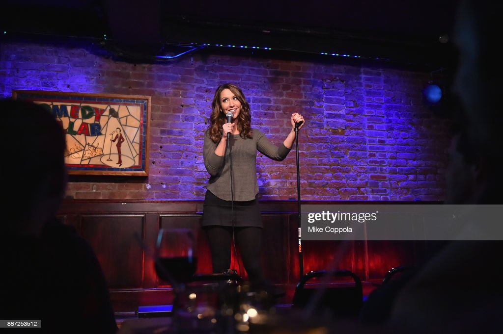 Rachel Feinstein performs onstage during truTV's Laff Mobb's Laff Tracks comedy show at The Village Underground on December 6, 2017 in New York City. (Photo by Mike Coppola/Getty Images for truTV) 27506_001