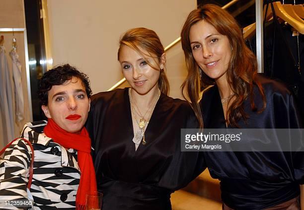 Rachel Felder, Stacey Bendet, host and Cristina Greeven-Cuomo, host