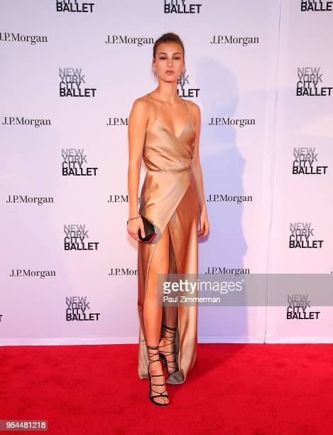 Rachel Fox attends the 2018 New York City Ballet Spring Gala at David H Koch Theater Lincoln Center on May 3 2018 in New York City