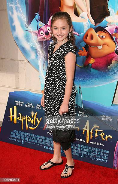 Rachel Fox during LionsGate's 'Happily N'Ever After' Los Angeles Premiere at The Mann Festival Theater in Westwood California United States