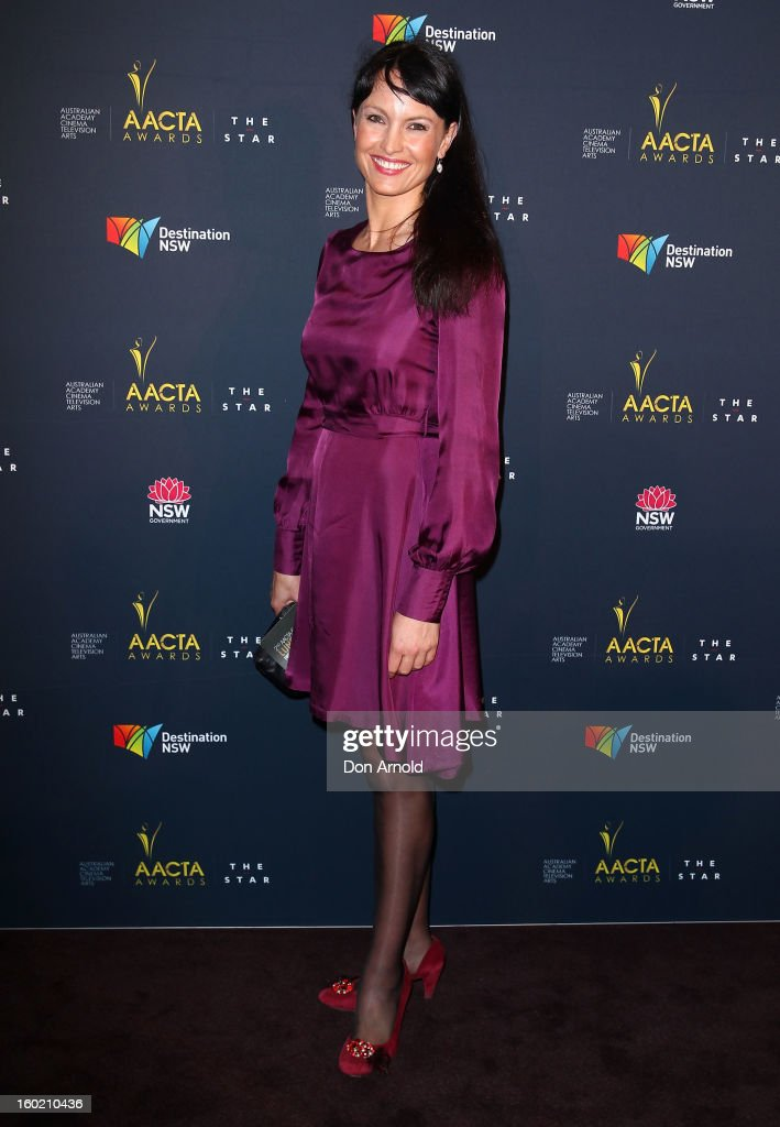Rachel Gordon poses during the 2nd Annual AACTA Awards Luncheon at The Star on January 28, 2013 in Sydney, Australia.