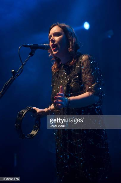 Rachel Goswell of Slowdive performs on stage at Sala Apolo on March 6 2018 in Barcelona Spain