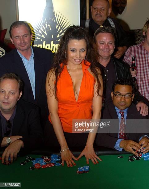Rachel Grant DJ Colin Murray Major Charles Ingram and Dr Raj Persuad