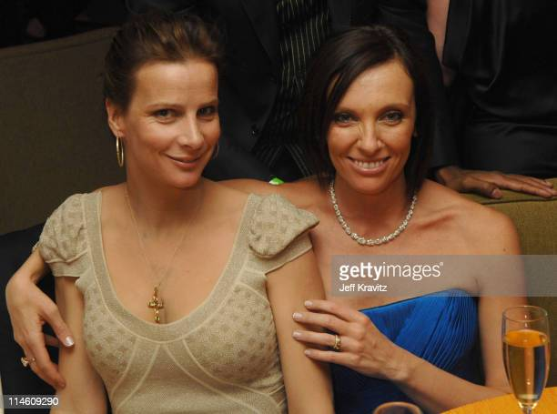 Rachel Griffiths and Toni Collette *Exclusive Coverage*