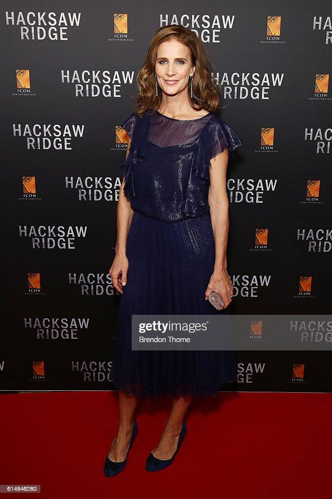 Hacksaw Ridge Australian Premiere - Arrivals
