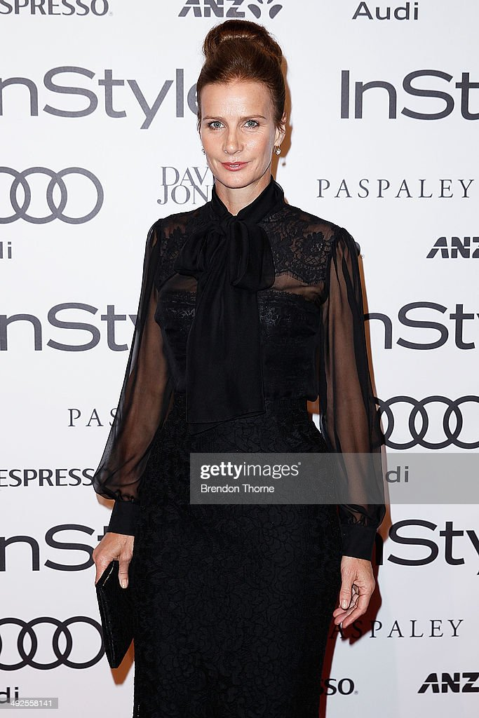 Rachel Griffiths arrives at the Instyle and Audi 'Women of Style' Awards on May 21, 2014 in Sydney, Australia.