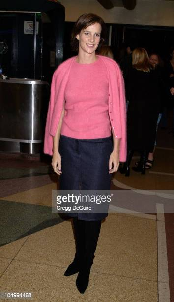 Rachel Griffiths arriving at the IFP/West Independent Spirit Awards Nomination Announcement Party