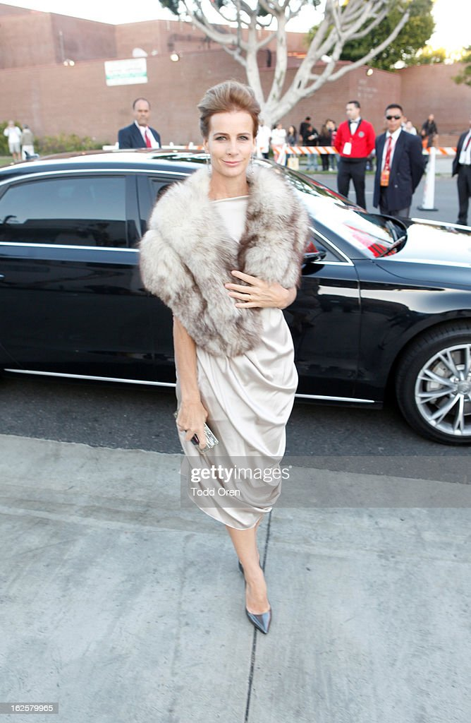 Rachel Griffiths attends Audi at 21st Annual Elton John AIDS Foundation Academy Awards Viewing Party at West Hollywood Park on February 24, 2013 in West Hollywood, California.