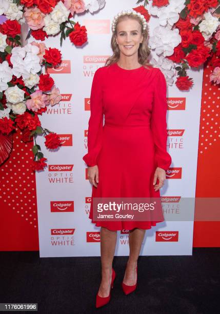 Rachel Griffiths attends Colgate Optic White Stakes Day at Royal Randwick Racecourse on September 21 2019 in Sydney Australia