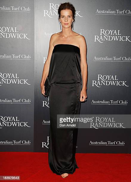 Rachel Griffiths attends the Gala Launch event to celebrate the new Australian Turf Club Grandstand at Royal Randwick Racecourse on October 10 2013...