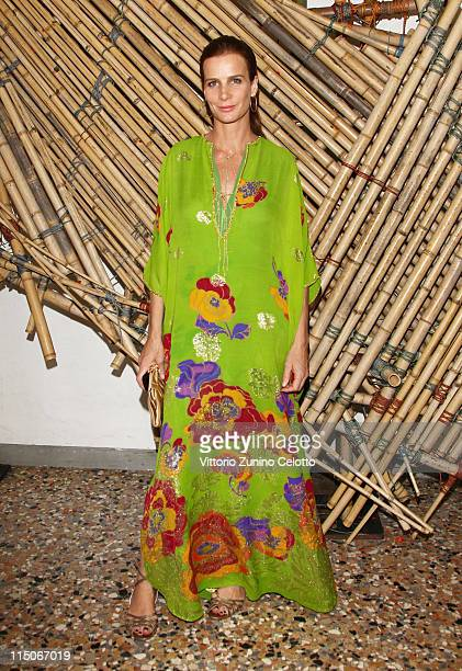 Rachel Griffiths attends the 'Hogan And Big Bambu' Cocktail Party during the 54th International Art Biennale on June 2, 2011 in Venice, Italy.