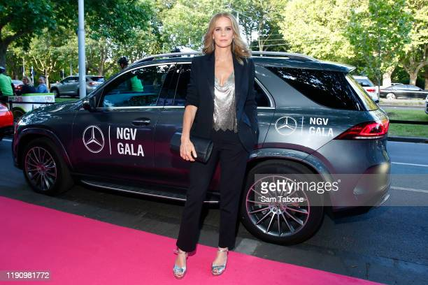 Rachel Griffiths attends the NGV Gala 2019 at the National Gallery of Victoria on November 30 2019 in Melbourne Australia