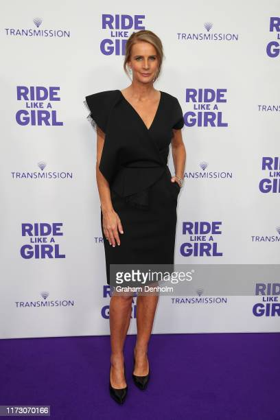 Rachel Griffiths attends the world premiere of RIDE LIKE A GIRL at Village Jam Factory on September 08 2019 in Melbourne Australia
