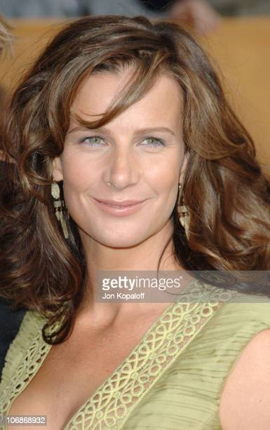 Rachel Griffiths during 12th Annual Screen Actors Guild Awards Arrivals at Shrine Auditorium in Los Angeles CA United States