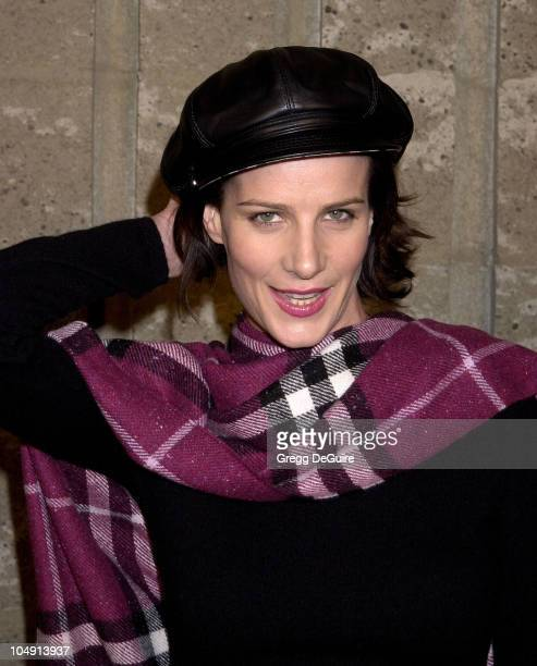 Rachel Griffiths during 'A Beautiful Mind' Premiere at AMPAS Theatre in Beverly Hills California United States