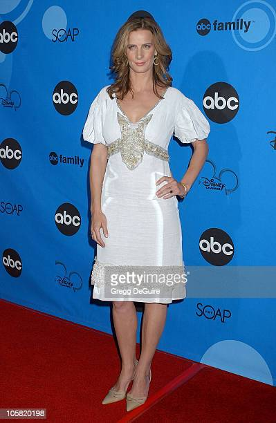 Rachel Griffiths during ABC All Star Party 2006 Arrivals at Rose Bowl in Pasadena California United States