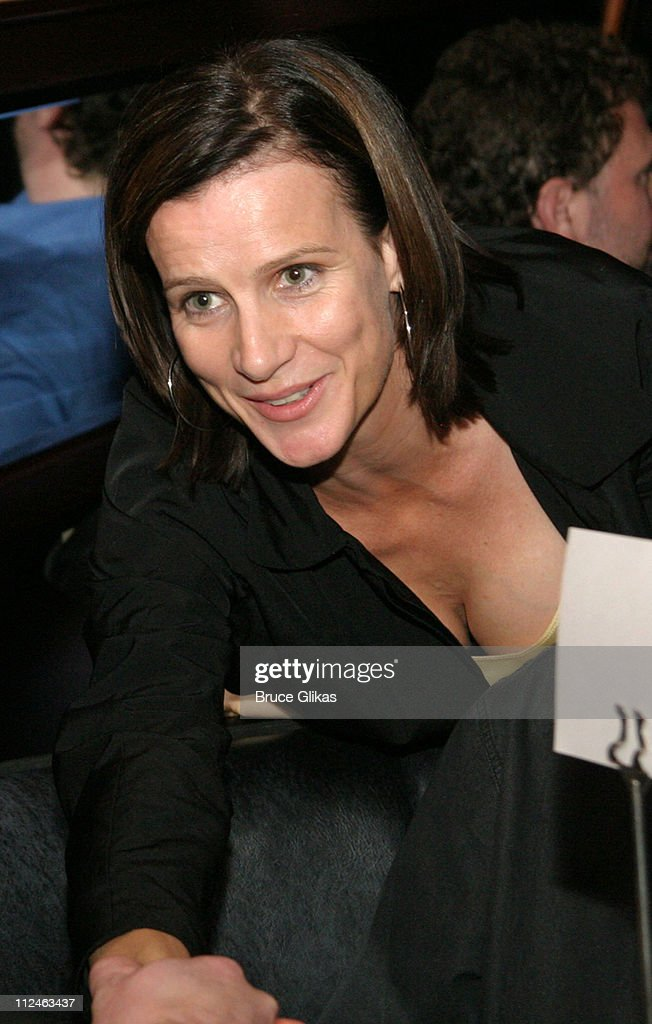 Rachel Griffiths during 'After The Fall' Broadway Opening Night - After Party at B.B. Kings in New York City, New York, United States.