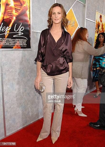 Rachel Griffiths during 'Step Up' Los Angeles Premiere Red Carpet at The Arclight in Hollywood California United States