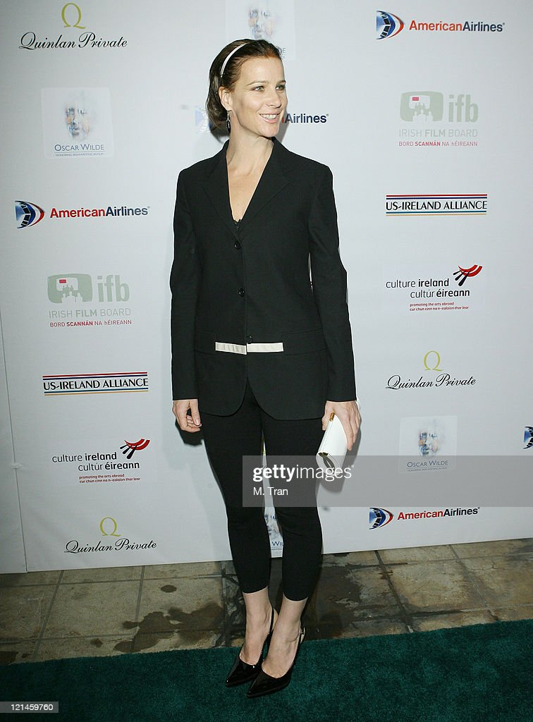 Rachel Griffiths during US-Ireland Alliance Honor Van Morrison at 2007 Pre-Oscar Gala at The Ebell Club of Los Angeles in Los Angeles, California, United States.