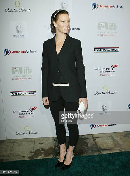 Rachel Griffiths during USIreland Alliance Honor Van Morrison at 2007 PreOscar Gala at The Ebell Club of Los Angeles in Los Angeles California United...