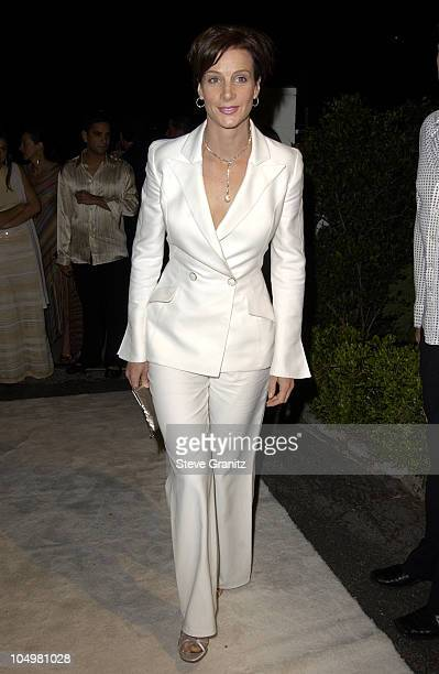 Rachel Griffiths during Women's Wear Daily The Ultimate Fashion Authority Hosted 'White Hot Diamonds' The Exclusive PreOscar Fashion Event Where...