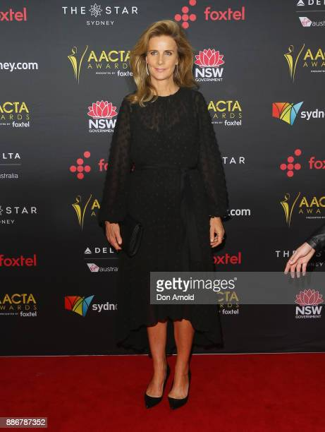 Rachel Griffiths poses during the 7th AACTA Awards at The Star on December 6 2017 in Sydney Australia